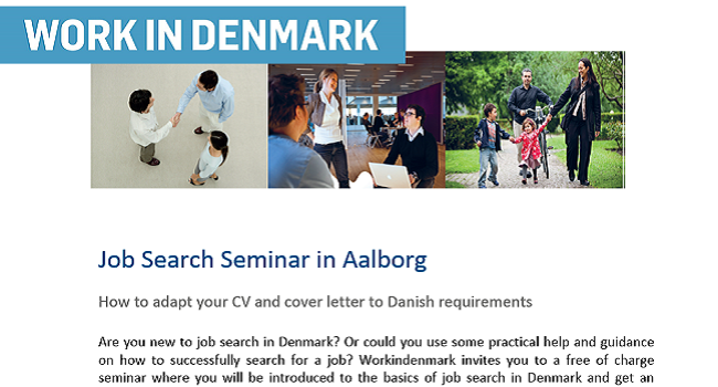 Job Search Seminar in Aalborg