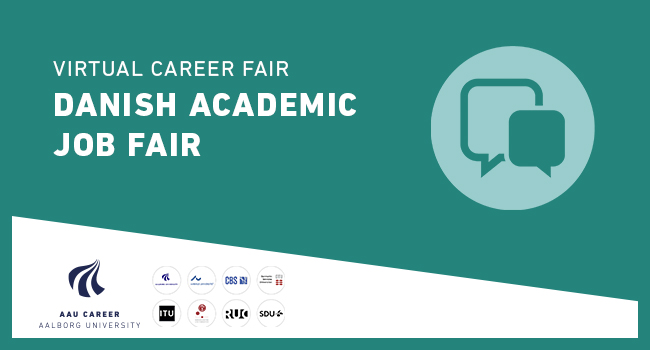Virtual career fair: Danish Academic Job Fair 2020